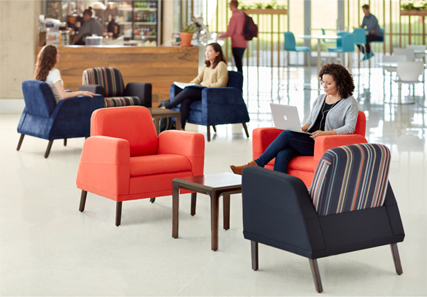 ATWELL LOUNGE SEATING Haworth health care