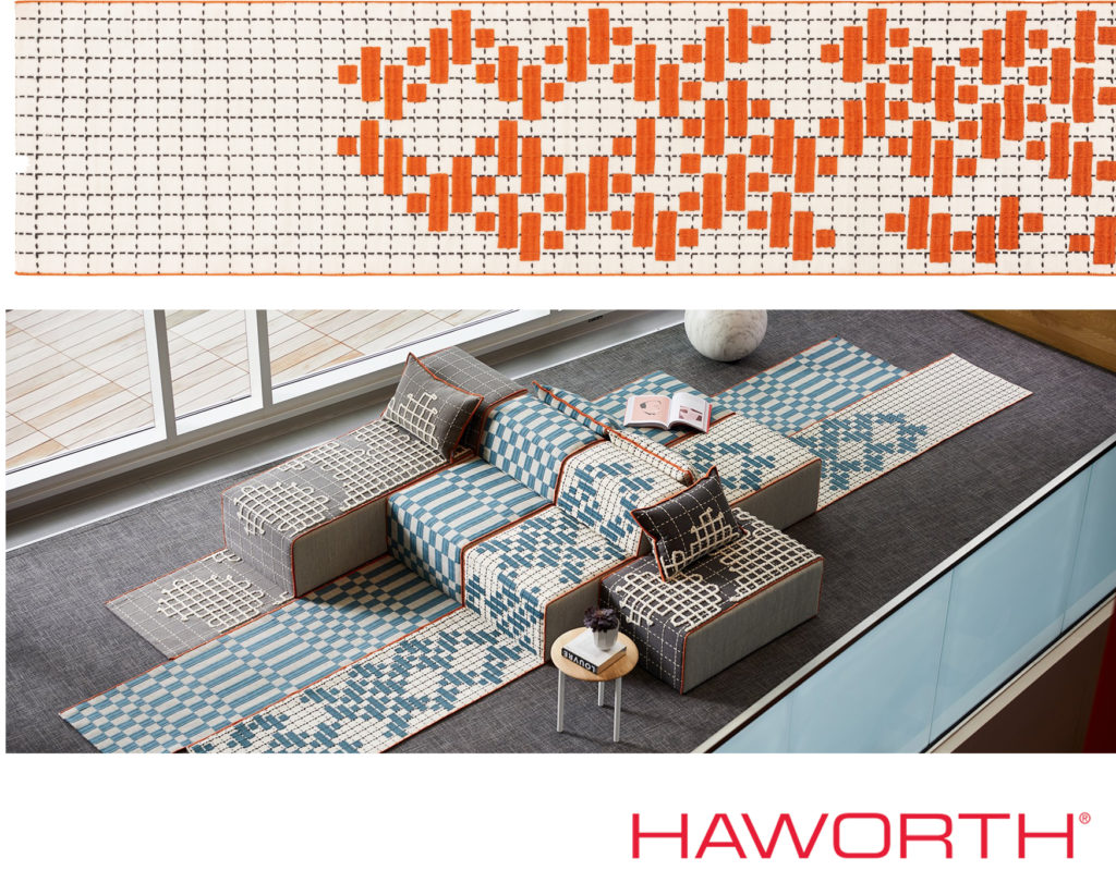 GAN RUGS from haworth with a Humanitarian